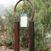 "~ SoldLucky Chime 66"" high   45"" wide   14"" deep"